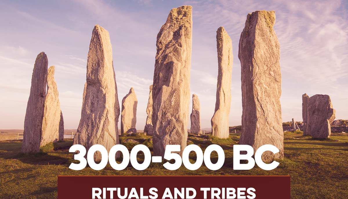 3000-500BC Rituals and Tribes