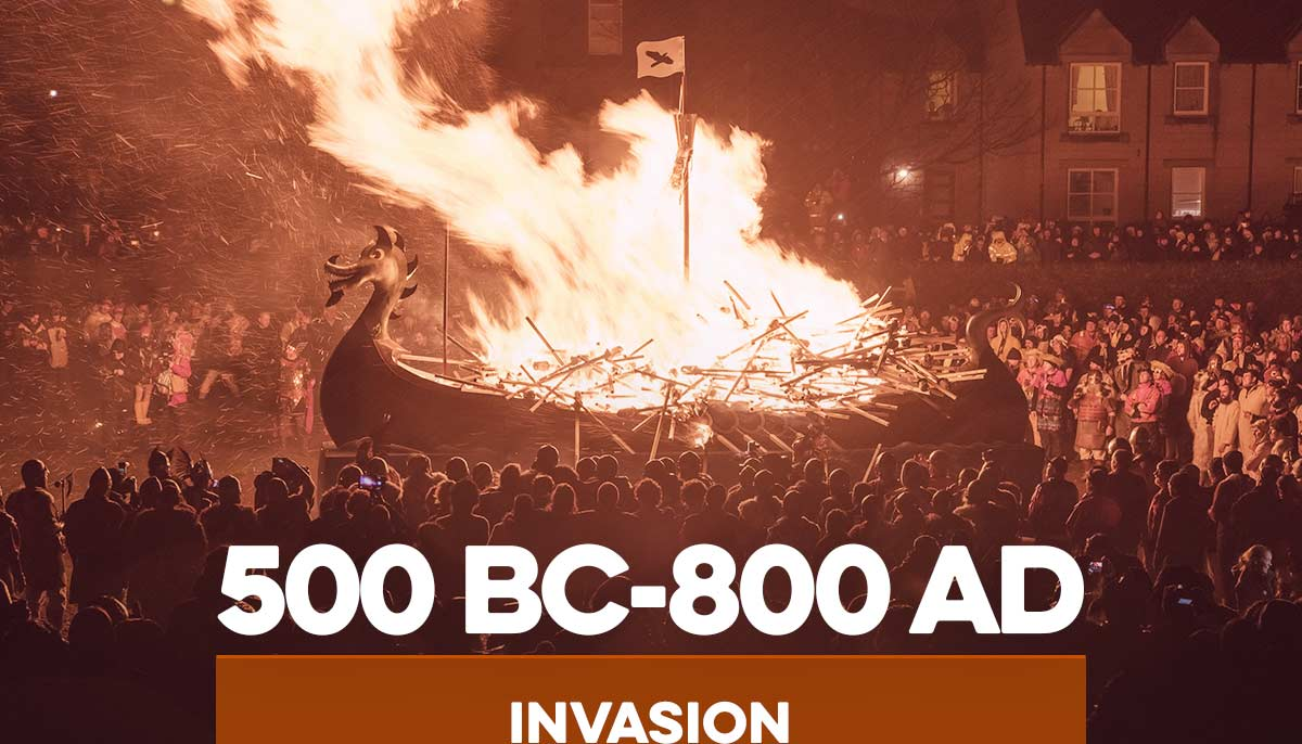 500 BC-800AD Invasion